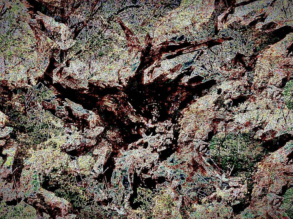 Halle MärzApril 2011 029 2 a Aquarell Grafik dunkel