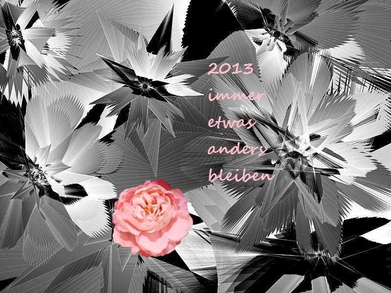 2013 Rose im Eis