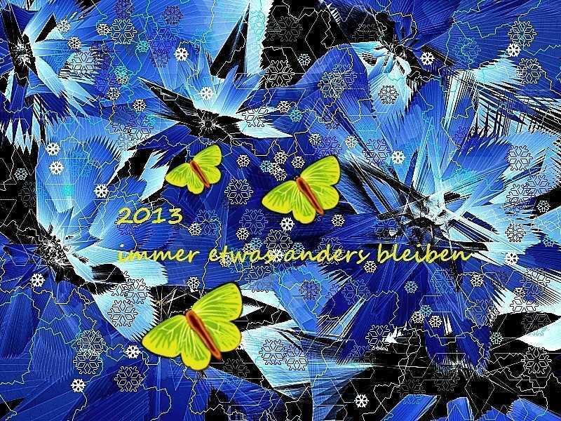 2013 Schmetterlinge im Eis