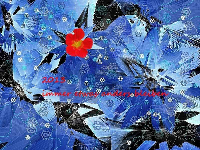 2013 Blume im Eis