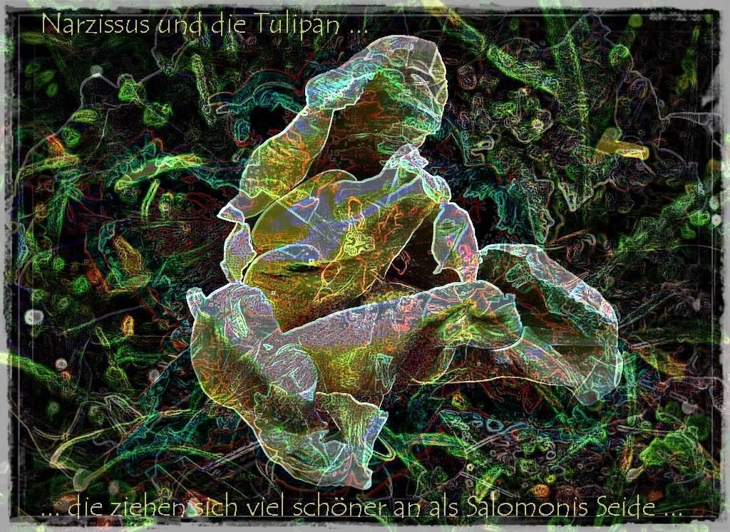 Gruß April 12 019 Aquarell 3 b Grafik dunkel 2