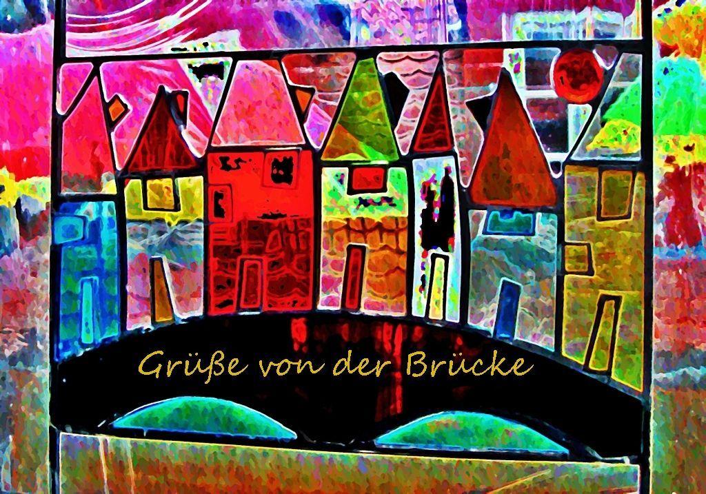 Gruß Erfurt Halle Mai Juni 2014 010 - Kopie a Grafik dunkel Aquarell d