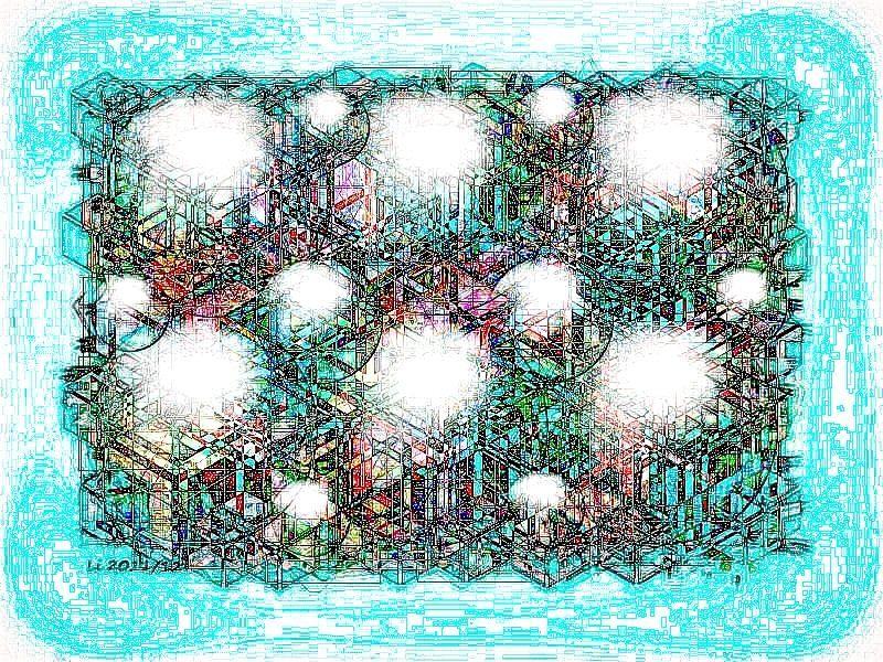 Seidenblasen Grafik