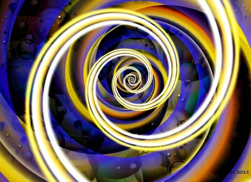 Goldspirale Relief 6