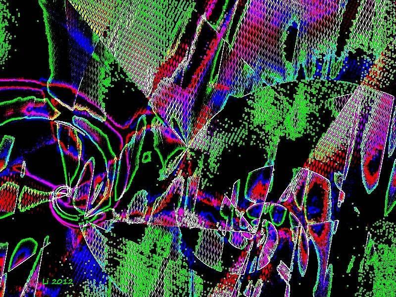 Vibrationen 32 Grafik dunkel