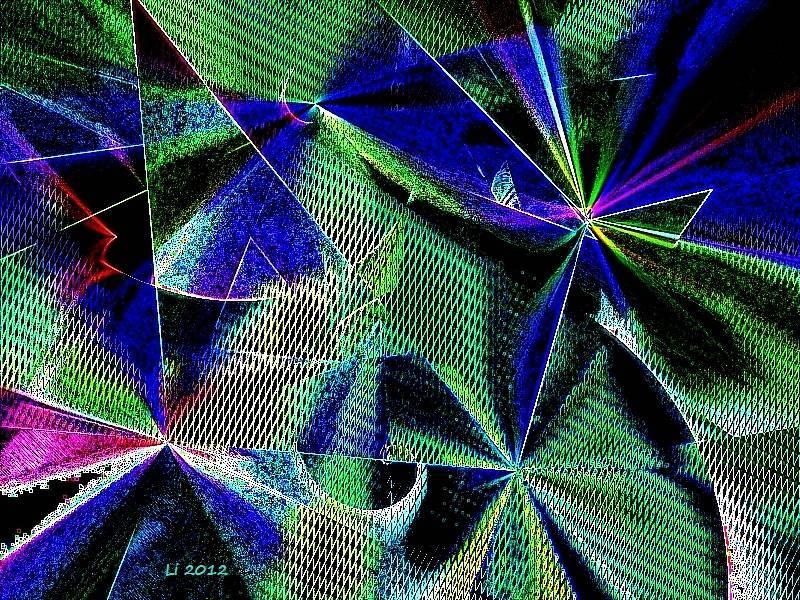 Vibrationen 35 - Kopie Grafik dunkel
