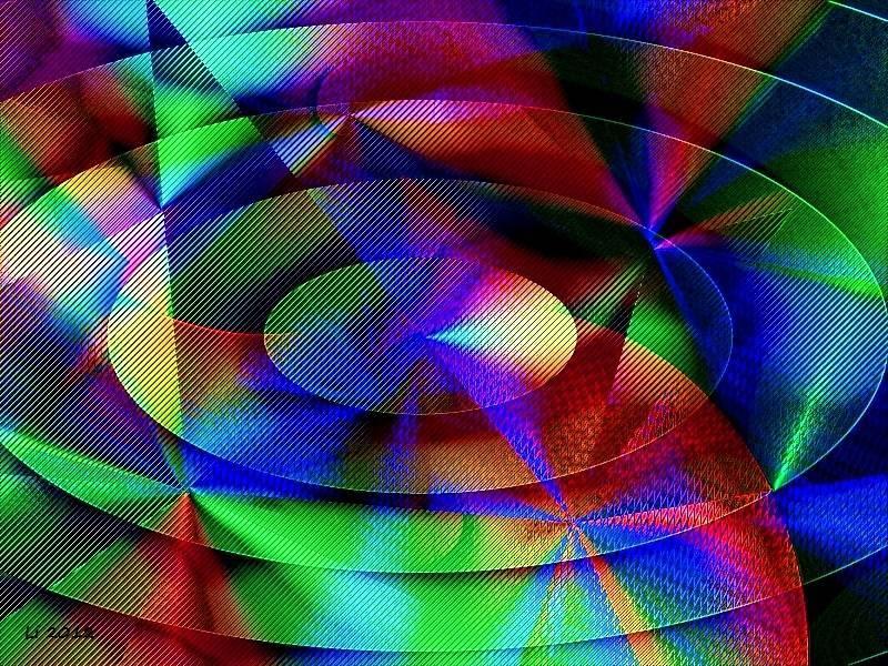 Vibrationen 40 a Grafik dunkel