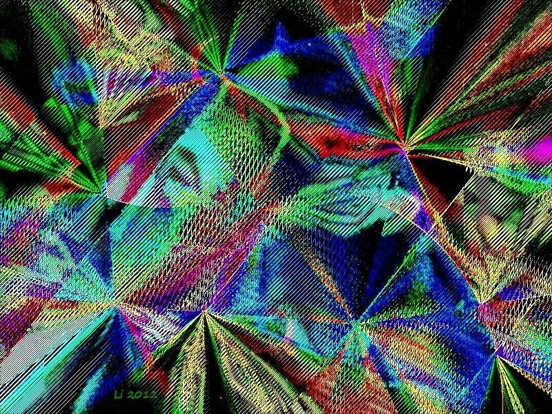 Vibrationen 44 a Grafik dunkel