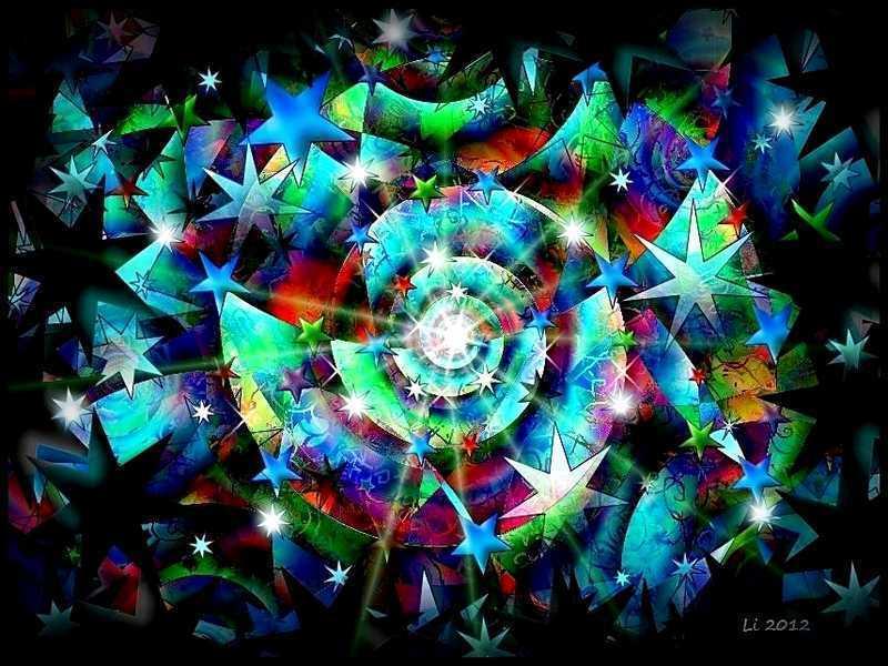 Blue Star Spirale 10