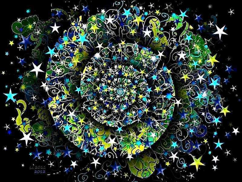 Blue Star Spirale 2