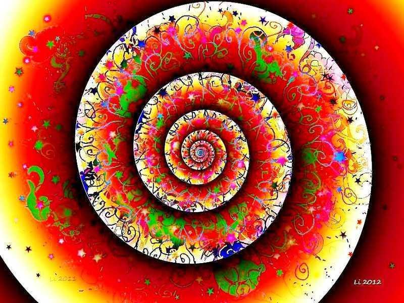 Blue Star Spirale 3