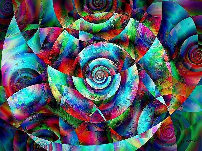 Blue Star Spirale 7