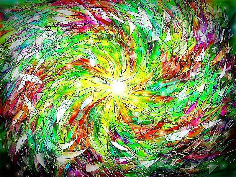 Explosion des Zauberspiegels 3