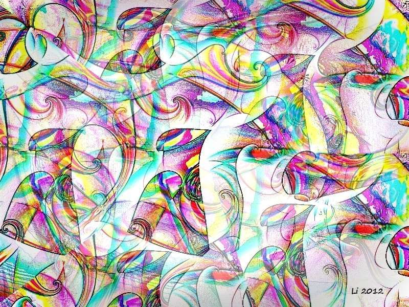 Flora oriental 20 a Grafik b