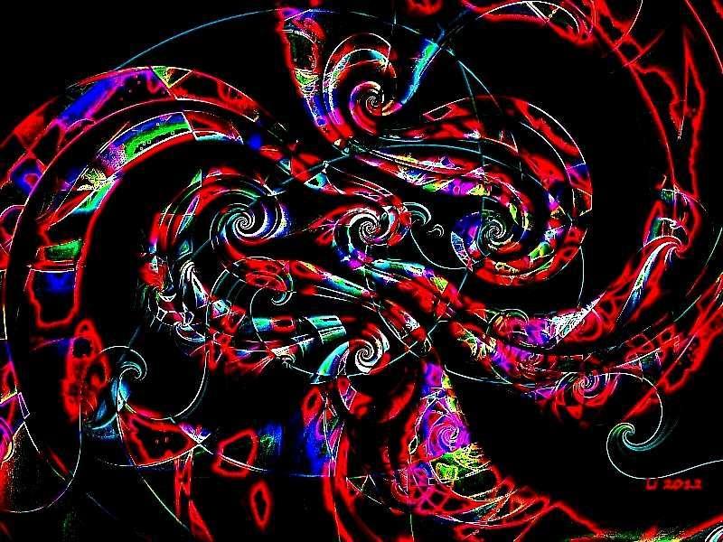 Flora oriental 46 Kopie 6 a Grafik dunkel
