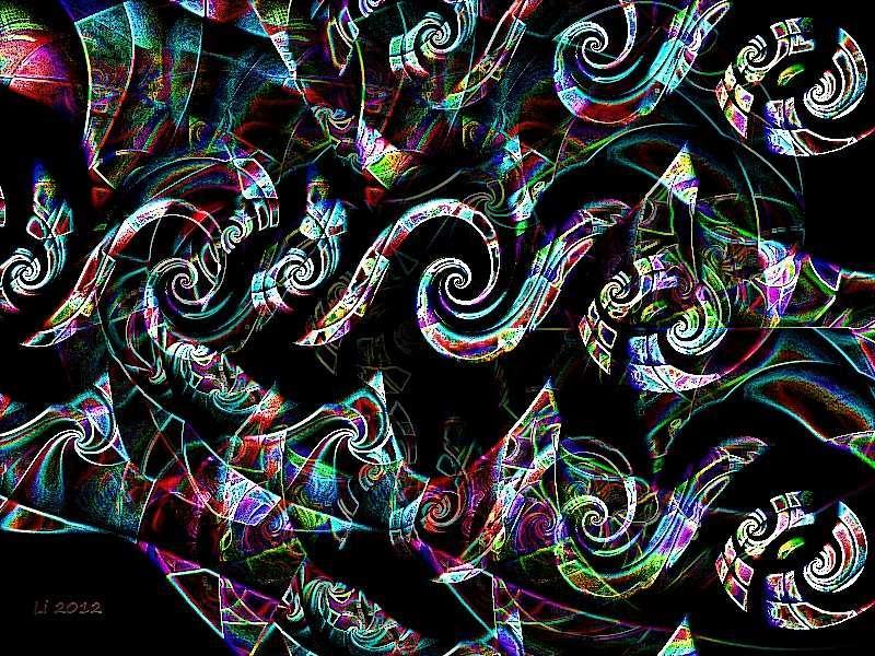 Flora oriental 47 a b Grafik dunkel
