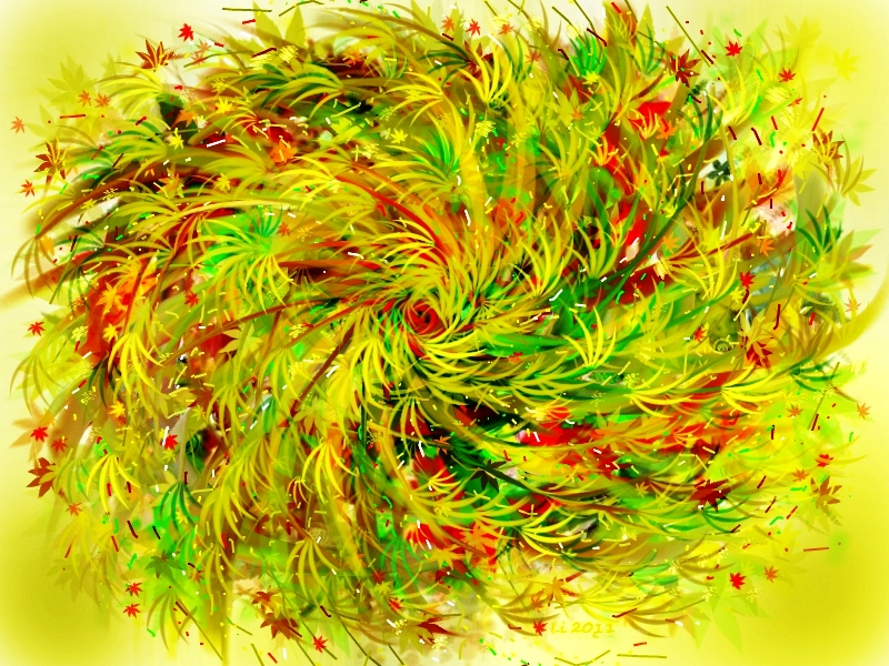 Herbstgras От желтизны не опадёт трава