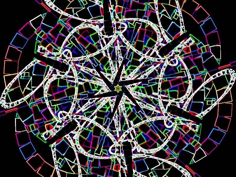 Oha 2 Aquarell Grafik dunkel