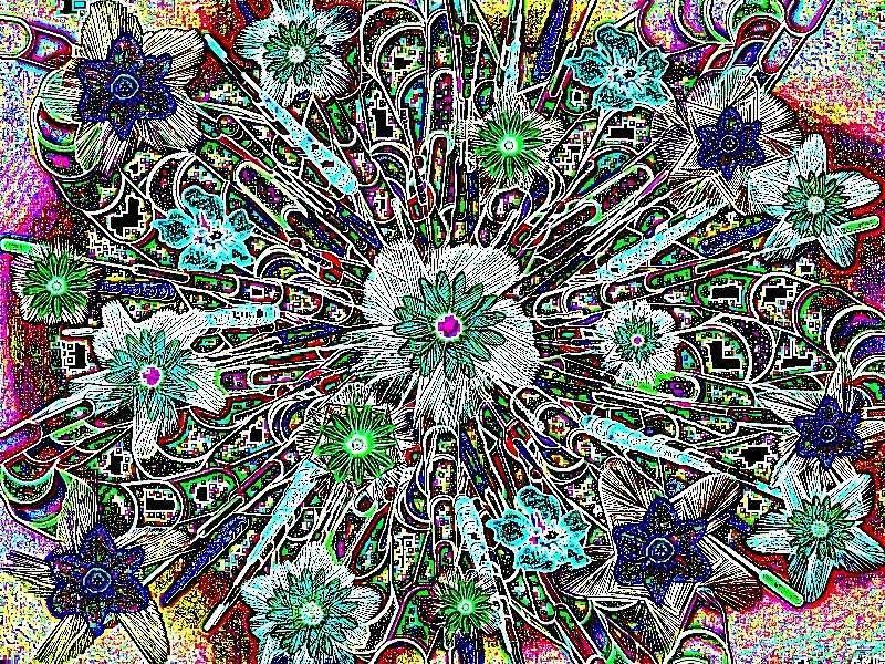 Oha Blütenstrauß Grafik Blüten a Grafik a Grafik a