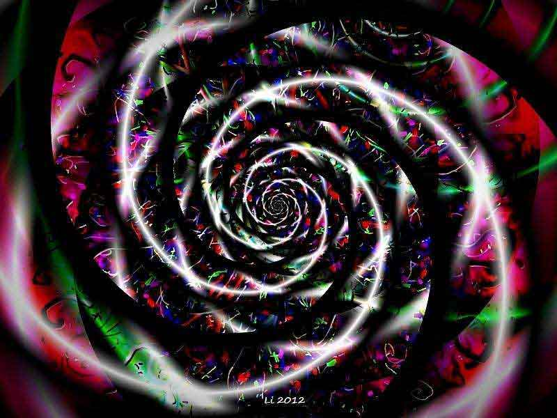 Porzellan-pinklilaschwarz